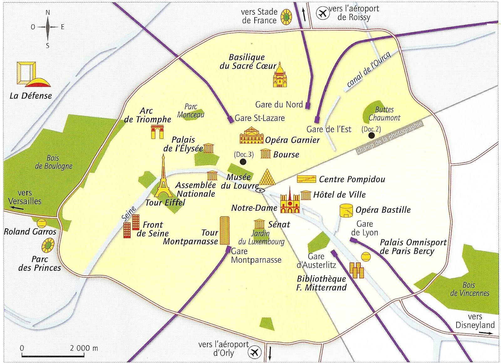 Lamallettehistoiregographie for Lieux touristiques paris